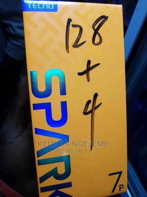 New Tecno Spark 7P 128 GB Black | Mobile Phones for sale in Lagos State, Ikeja