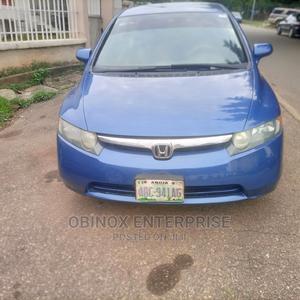 Honda Civic 2007 1.8i-Vtec VXi Automatic Blue | Cars for sale in Abuja (FCT) State, Gudu