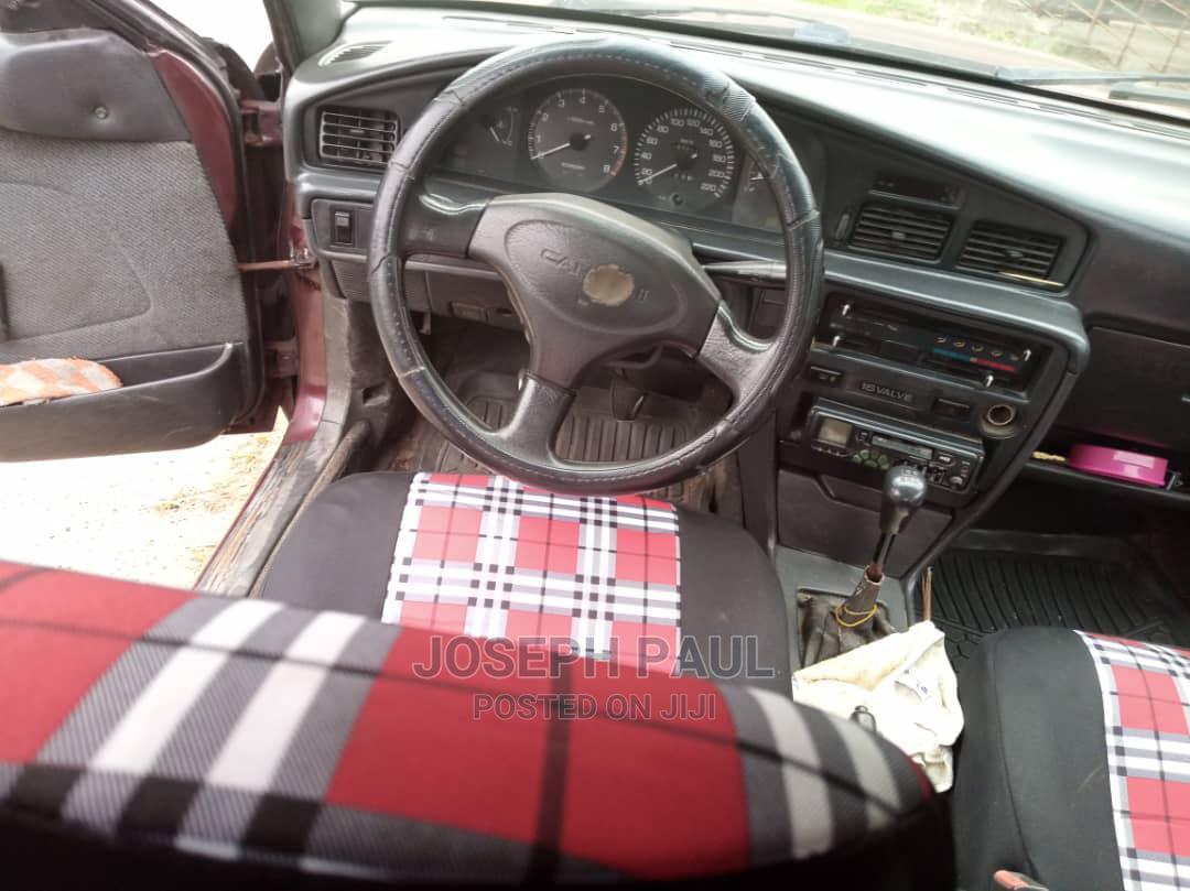 Archive: Toyota Carina 1996 1.6 FWD Sedan