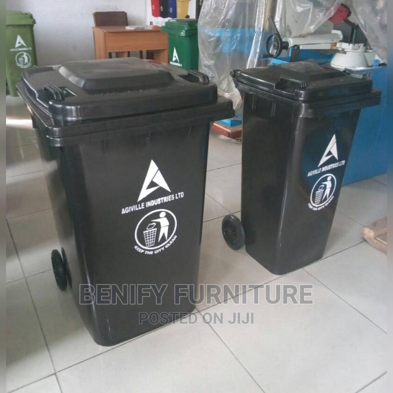 240l Plastic Waste/ Trash Bin