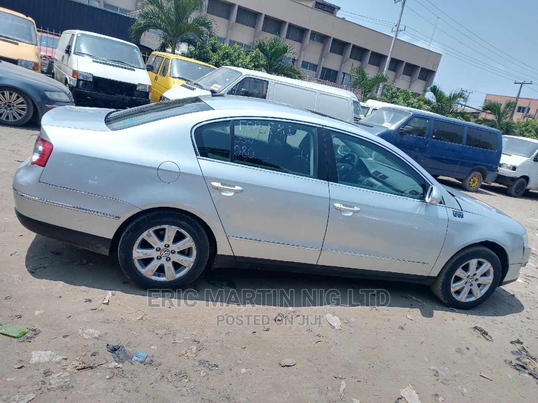 Volkswagen Passat 2008 2.0 Turbo Silver | Cars for sale in Surulere, Lagos State, Nigeria