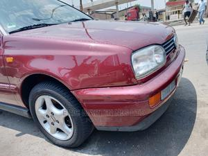 Volkswagen Golf 1996 GL Red   Cars for sale in Lagos State, Surulere