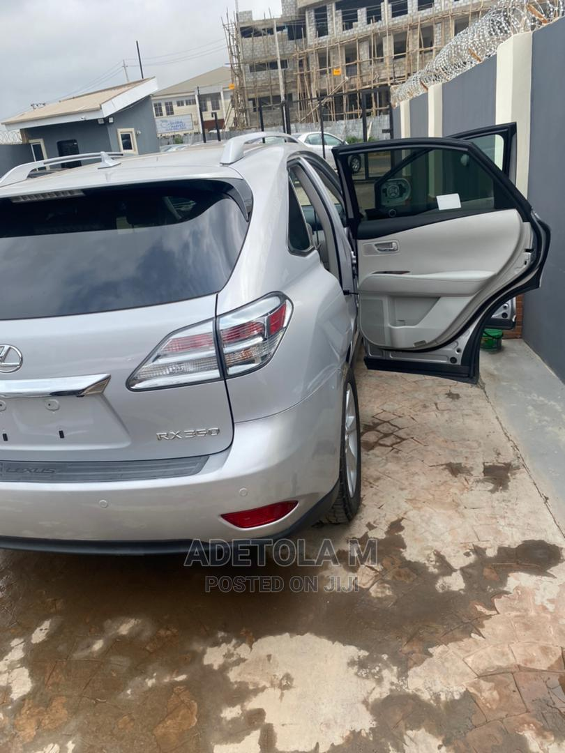 Lexus RX 2012 350 FWD Silver   Cars for sale in Ibadan, Oyo State, Nigeria