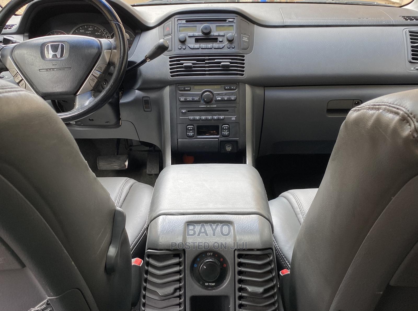 Archive: Honda Pilot 2005 EX-L 4x4 (3.5L 6cyl 5A) Black