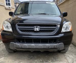 Honda Pilot 2005 EX-L 4x4 (3.5L 6cyl 5A) Black | Cars for sale in Lagos State, Gbagada