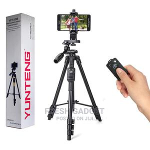 Yunteng Mobile Phone Camera Tripod Stand With Remote | Photo & Video Cameras for sale in Lagos State, Ikeja