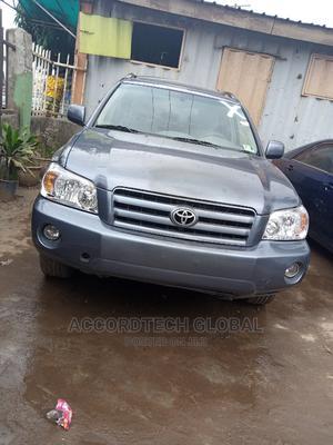 Toyota Highlander 2007 Limited V6 Gray | Cars for sale in Lagos State, Ifako-Ijaiye