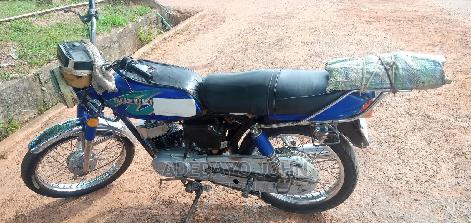 Archive: Suzuki Bike 2007 Blue