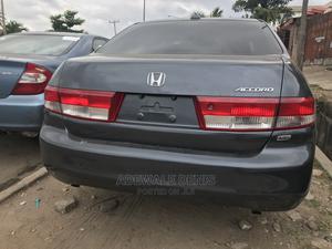 Honda Accord 2004 Sedan EX Gray   Cars for sale in Lagos State, Ikeja