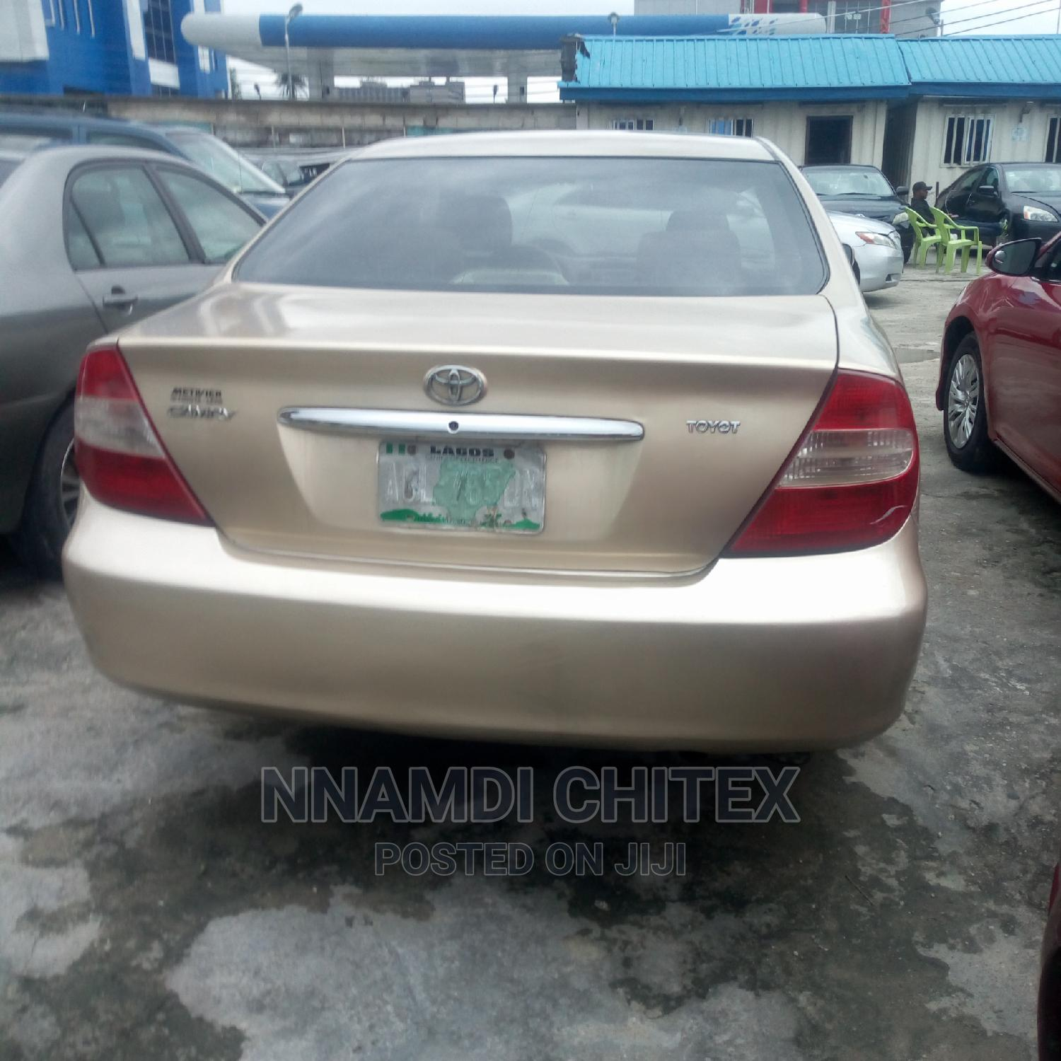 Toyota Camry 2003 Gold | Cars for sale in Port-Harcourt, Rivers State, Nigeria
