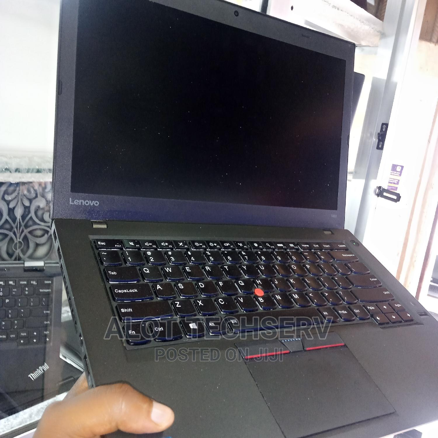 Laptop Lenovo ThinkPad T460 8GB Intel Core I5 HDD 500GB | Laptops & Computers for sale in Ikeja, Lagos State, Nigeria
