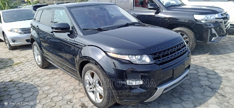 Land Rover Range Rover Evoque 2014 Black | Cars for sale in Ajah, Lagos State, Nigeria