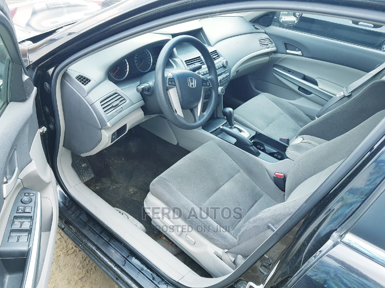 Honda Accord 2009 2.0 I-Vtec Automatic Black   Cars for sale in Ikeja, Lagos State, Nigeria