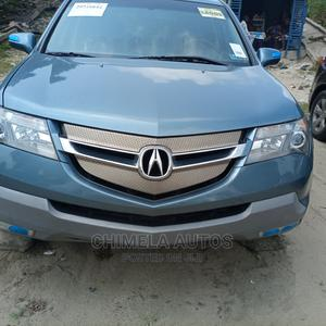 Acura MDX 2007 SUV 4dr AWD (3.7 6cyl 5A) Blue | Cars for sale in Lagos State, Apapa