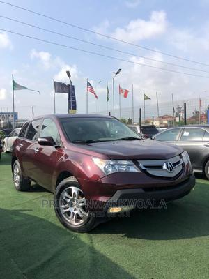Acura MDX 2008 SUV 4dr AWD (3.7 6cyl 5A) Red | Cars for sale in Lagos State, Ajah