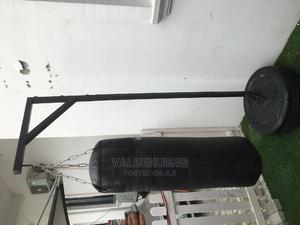 Locally Made Punching Bag Stand+Punching Bag   Sports Equipment for sale in Lagos State, Lekki