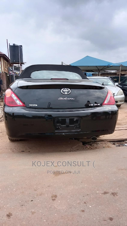 Archive: Toyota Solara 2007 Black