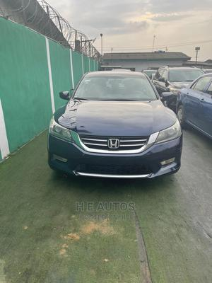 Honda Accord 2013 Blue   Cars for sale in Lagos State, Ogba
