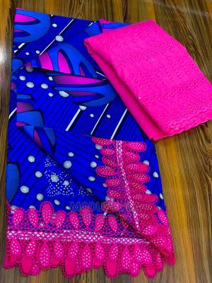 Ankara With Lace Combo   Clothing for sale in Kwara State, Ilorin South