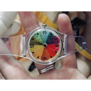 Ready Stocksilicone Boy's Gi's Colorful Dial Watch Sports | Watches for sale in Lagos State, Alimosho