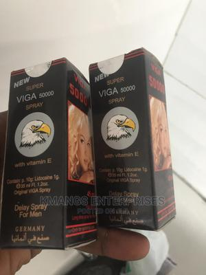 New Super Viga Spray 50000 (Delay Spray)   Sexual Wellness for sale in Rivers State, Eleme