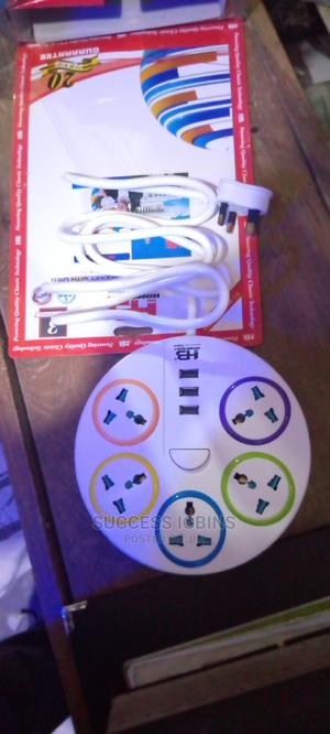 Extension With 3 USB for Phone | Accessories & Supplies for Electronics for sale in Lagos State, Agege