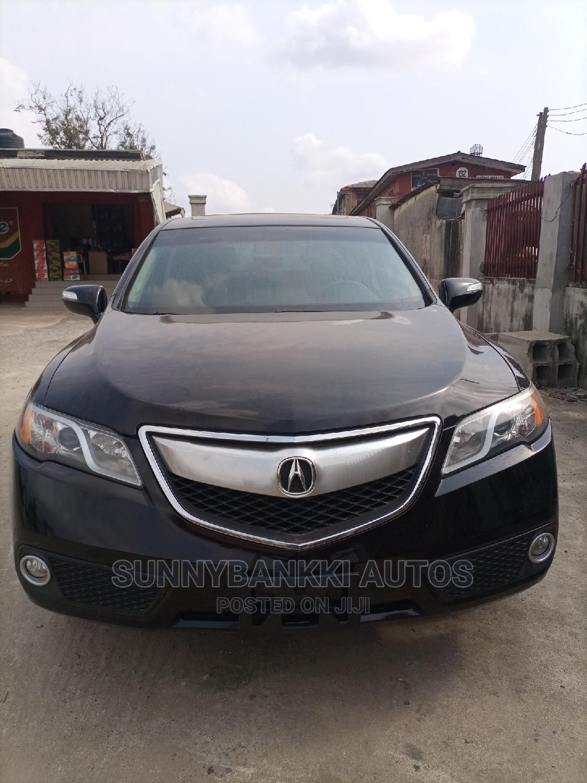 Acura RDX 2014 Black | Cars for sale in Ifako-Ijaiye, Lagos State, Nigeria