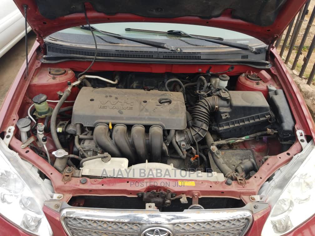 Toyota Corolla 2007 Red | Cars for sale in Ifako-Ijaiye, Lagos State, Nigeria