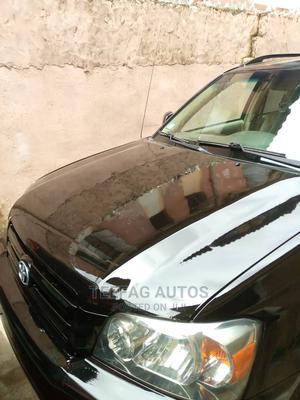 Toyota Highlander 2006 V6 Black | Cars for sale in Lagos State, Surulere