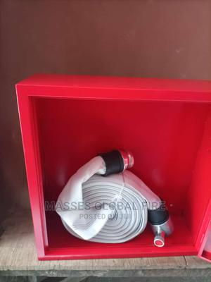 Fire Hose Box With Hose /Nozzle | Safetywear & Equipment for sale in Lagos State, Apapa