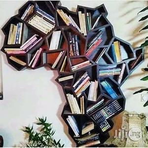 Custom Africa Book Shelf | Furniture for sale in Lagos State, Lekki