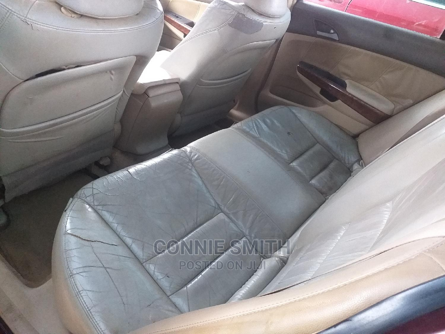 Archive: Honda Accord 2009 2.0i Automatic Red