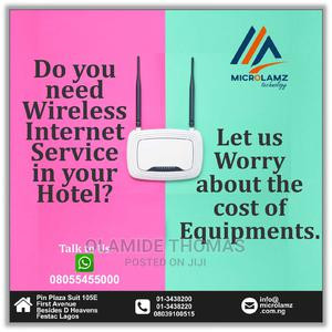 Hotel Office Free Wifi/Hotspot | Computer & IT Services for sale in Lagos State, Amuwo-Odofin