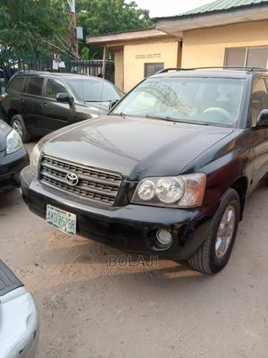 Toyota Highlander 2003 Limited V6 AWD Black | Cars for sale in Lagos State, Alimosho