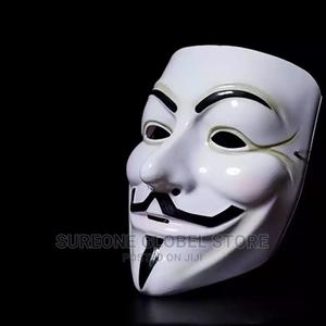 Hacker Mask Anonymous Guy   Clothing Accessories for sale in Lagos State, Victoria Island