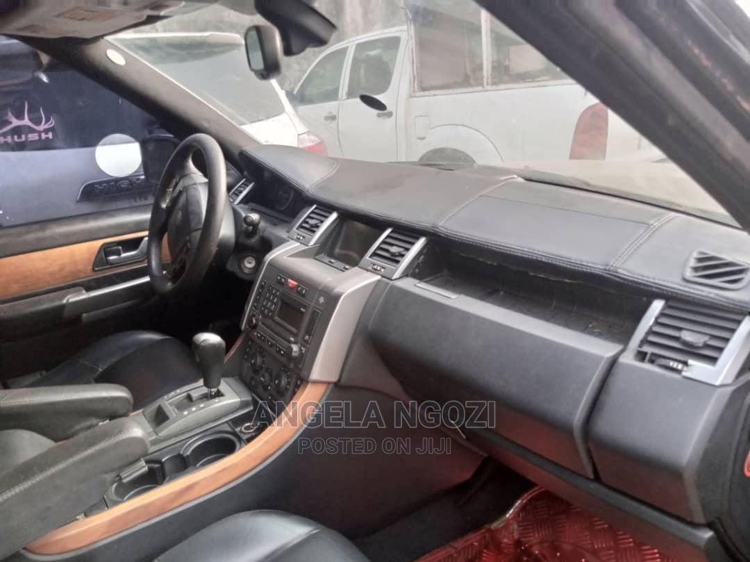 Land Rover Range Rover Sport 2012 HSE 4x4 (5.0L 8cyl 6A) Black | Cars for sale in Oyigbo, Rivers State, Nigeria