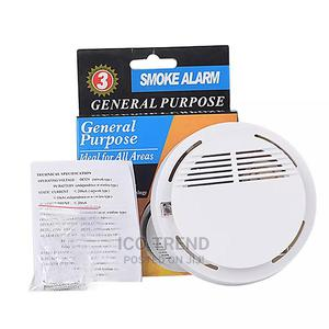 General Purpose Wireless 433mhz Smoke Detector Fire Alarm | Safetywear & Equipment for sale in Lagos State, Ikeja