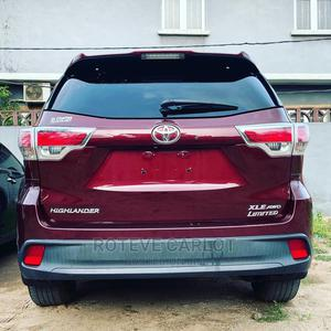 Toyota Highlander 2014 Red | Cars for sale in Lagos State, Abule Egba