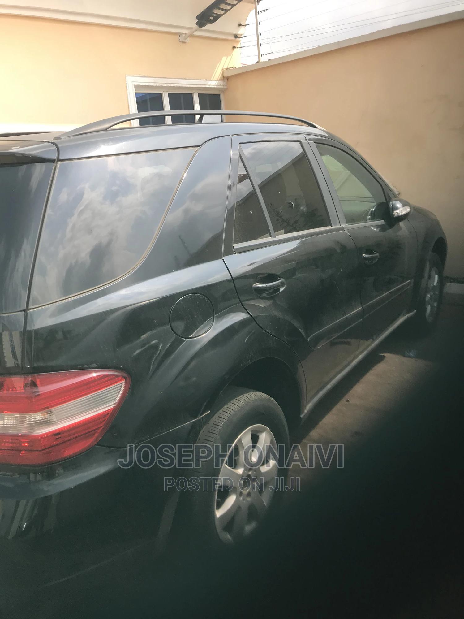Mercedes-Benz M Class 2008 ML 350 4Matic Black   Cars for sale in Ibadan, Oyo State, Nigeria