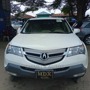 Acura MDX 2009 SUV 4dr AWD (3.7 6cyl 5A) White | Cars for sale in Lagos State, Apapa