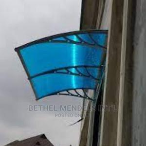Window Polycarbonate Awning and Overhead Door Canopy | Building Materials for sale in Lagos State, Ikeja