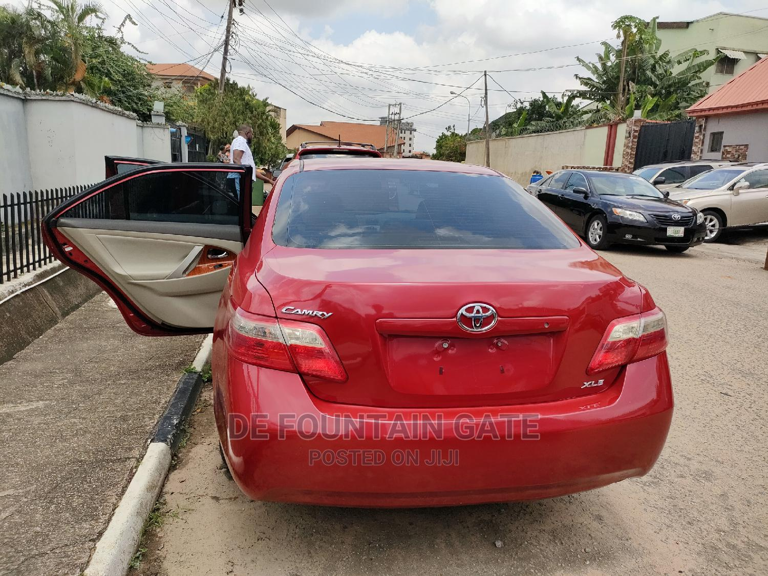 Toyota Camry 2009 Red   Cars for sale in Ogba, Lagos State, Nigeria