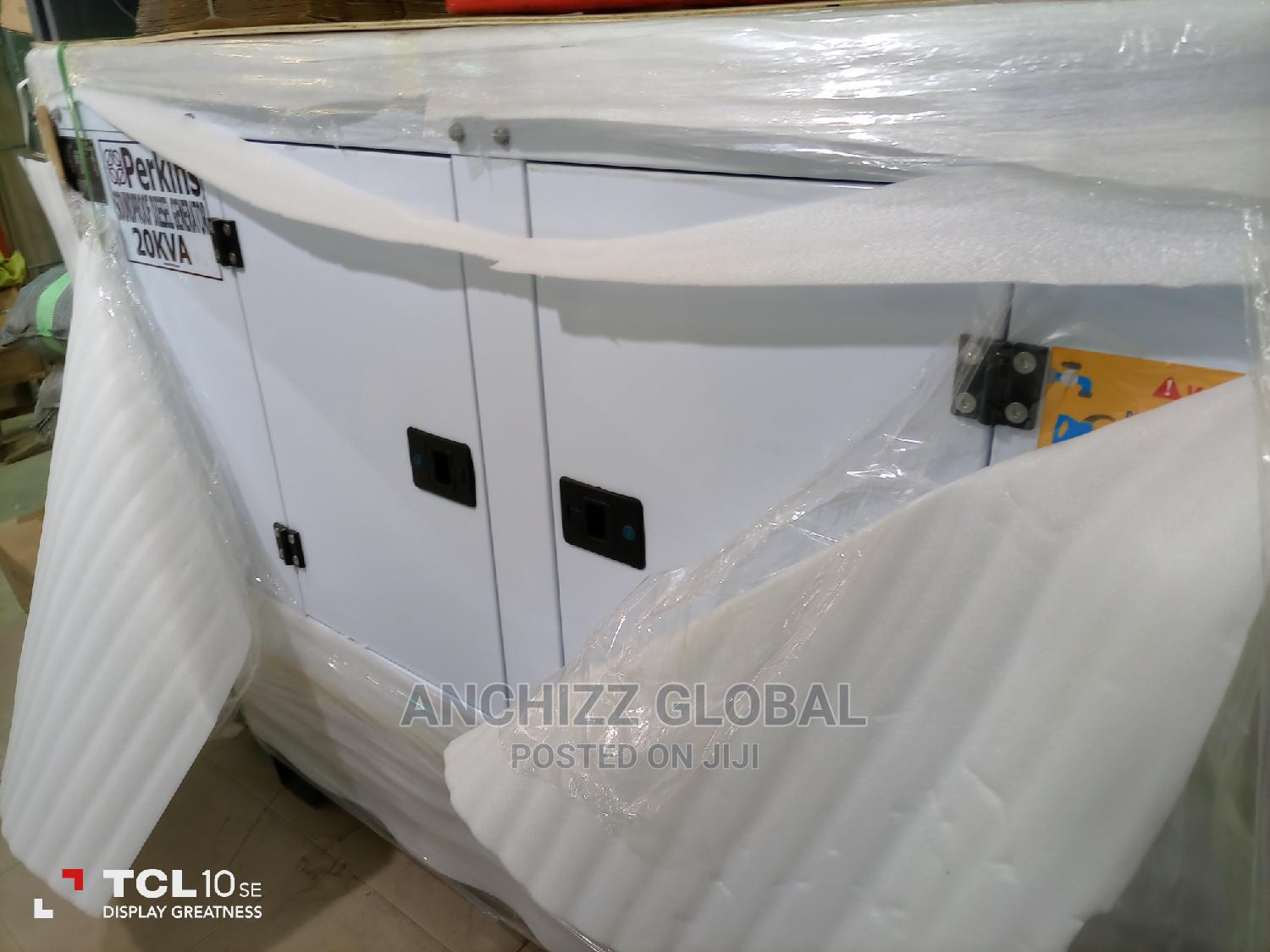 20kva Perkins Soundproof Generator   Electrical Equipment for sale in Central Business District, Abuja (FCT) State, Nigeria