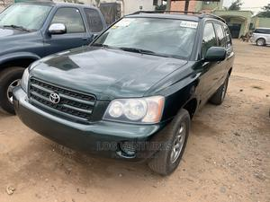 Toyota Highlander 2003 V6 AWD Green   Cars for sale in Oyo State, Ibadan