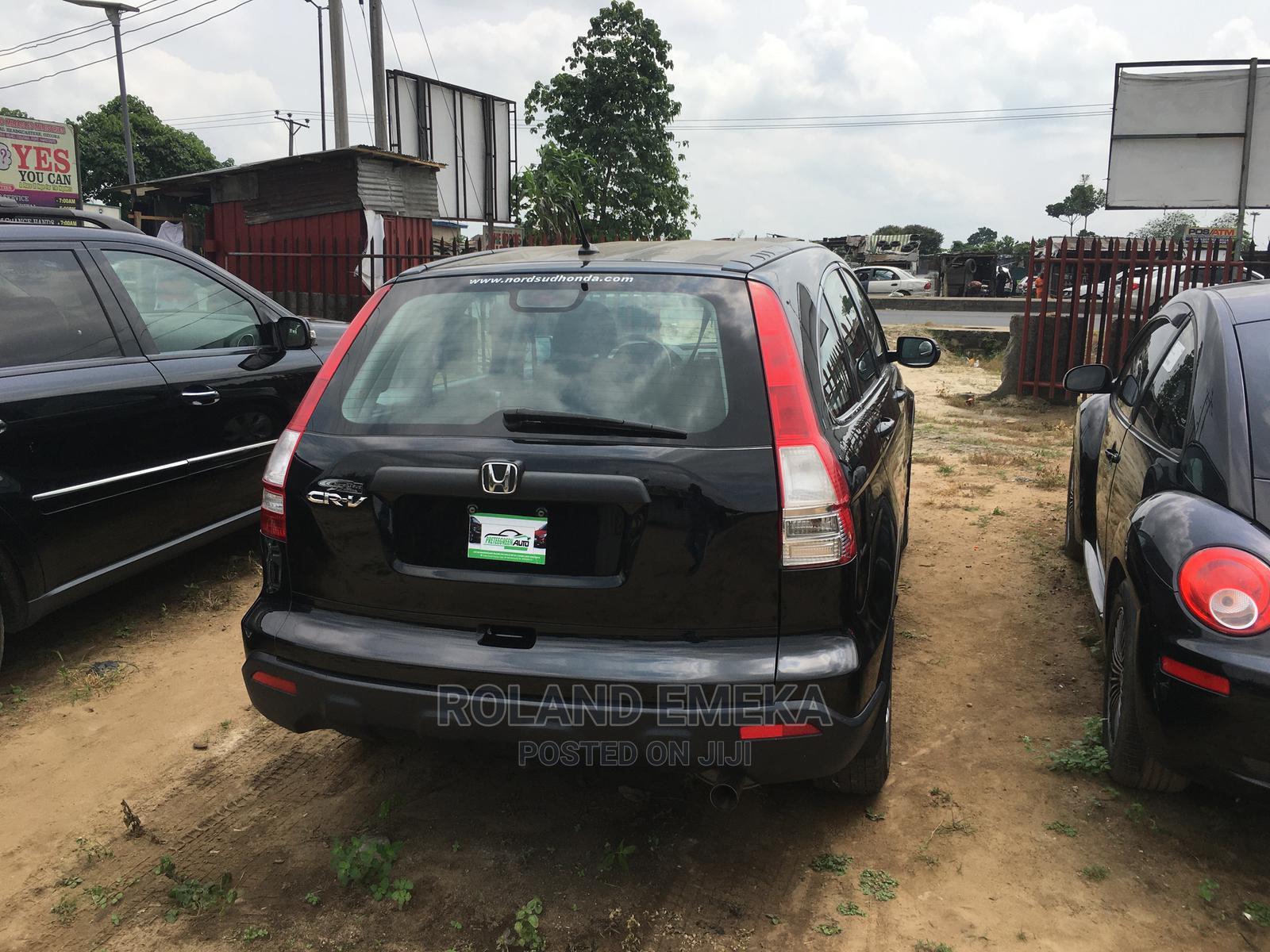 Honda CR-V 2008 Black | Cars for sale in Obio-Akpor, Rivers State, Nigeria