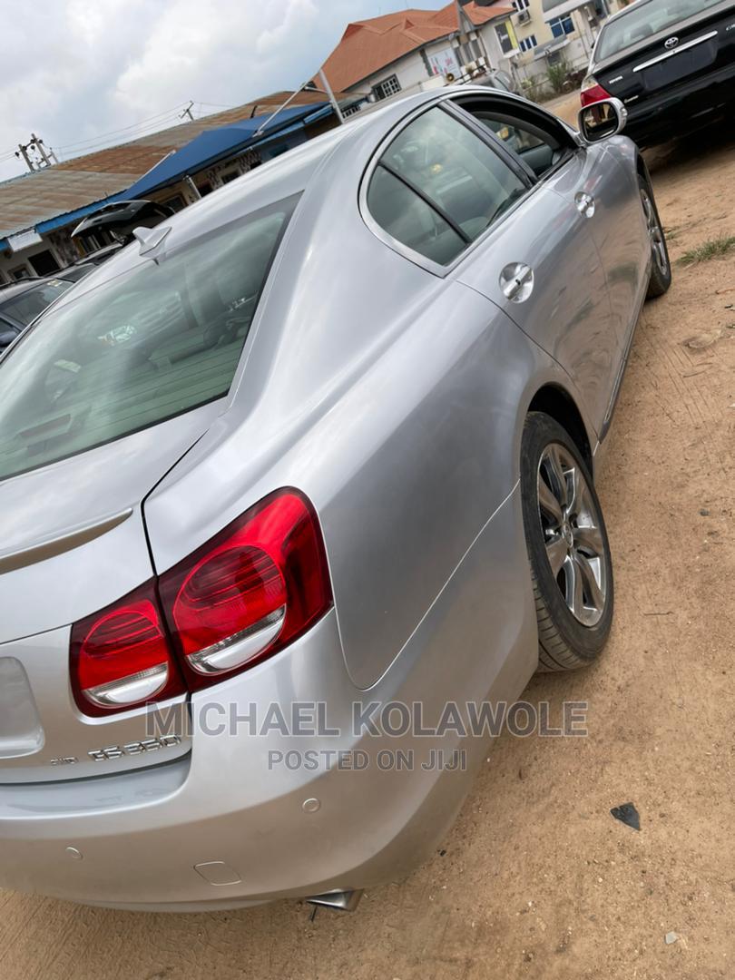 Lexus GS 2009 350 Silver | Cars for sale in Ibadan, Oyo State, Nigeria