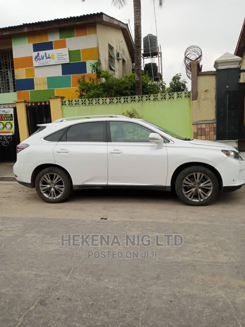 Archive: Lexus RX 2013 White