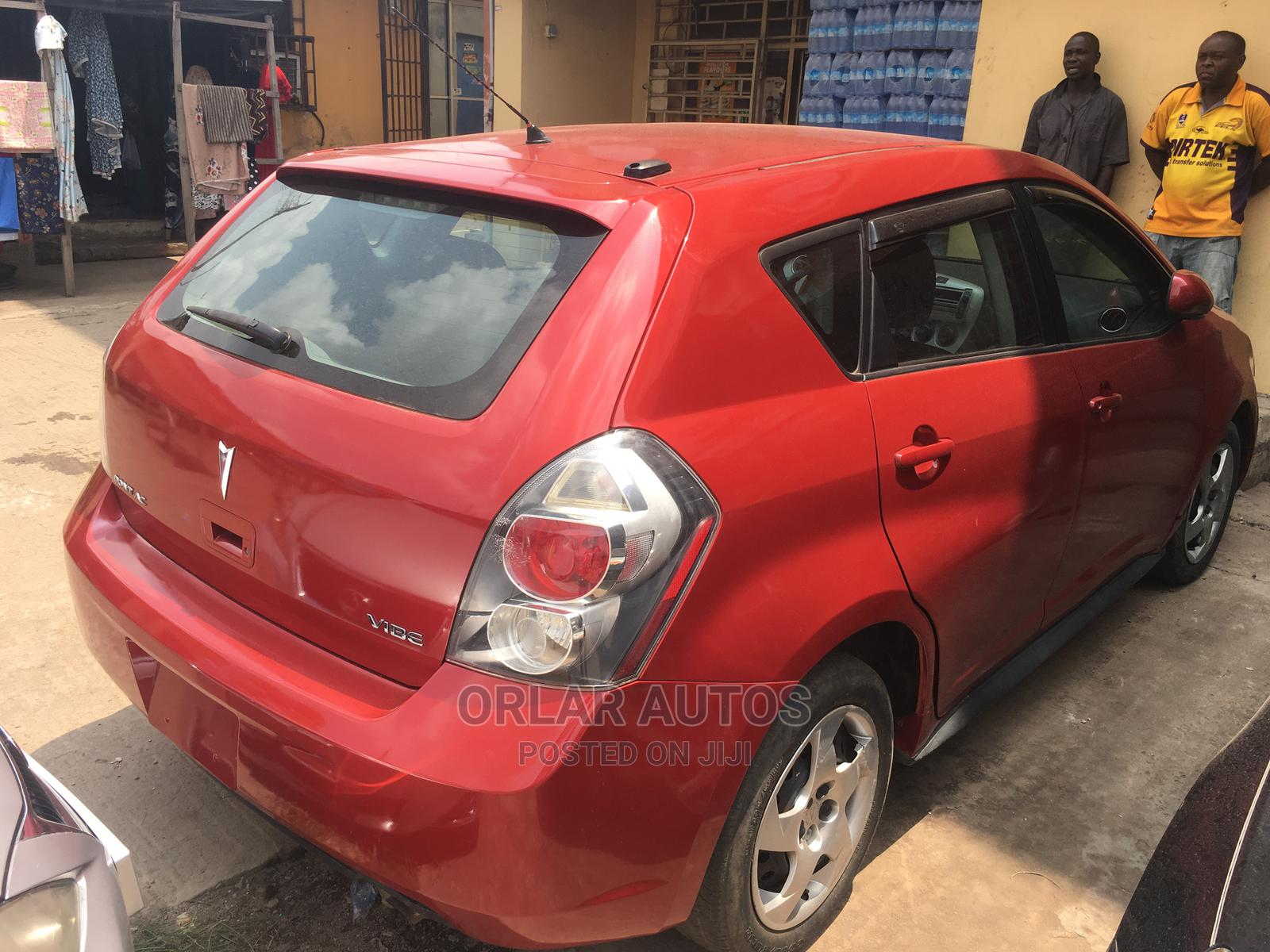 Pontiac Vibe 2009 1.8L Red | Cars for sale in Ibadan, Oyo State, Nigeria