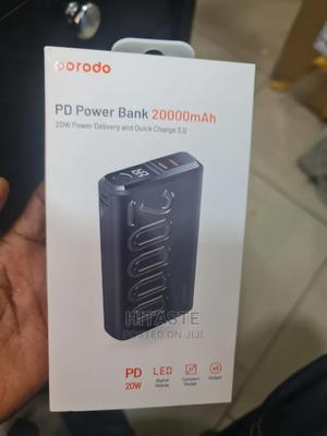 Porodo Power Bank 20,000mah | Accessories for Mobile Phones & Tablets for sale in Lagos State, Ikeja