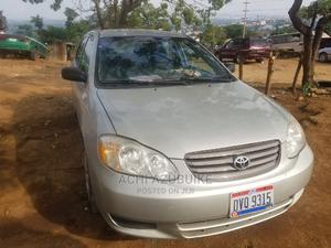 Toyota Corolla 2003 Sedan Automatic Silver | Cars for sale in Abuja (FCT) State, Mpape